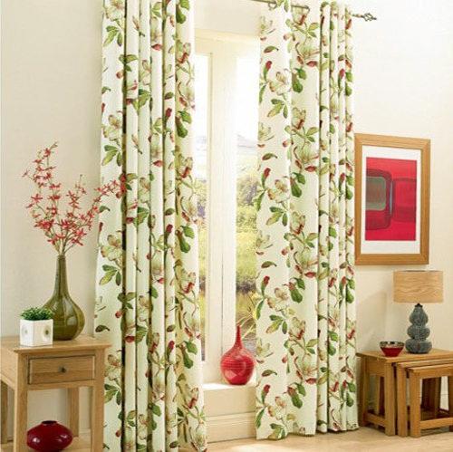 Lợi ích khi sử dụng rèm vải hoa