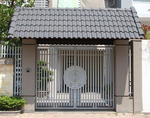 Phong cách cửa sắt hiện đại