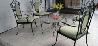 Thiết kế bàn ghế sắt cho ngôi nhà sang trọng