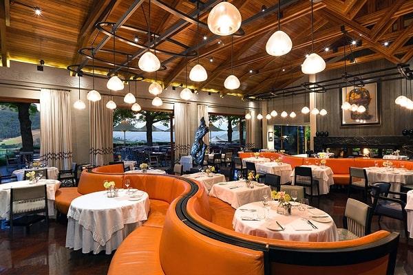 Thiết kế nội thất nhà hàng cần quan tâm tới sự hài hòa về màu sắc