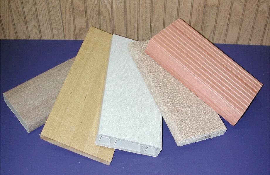 Cửa gỗ nhựa gồm hai thành phần chính là bột gỗ và nhựa