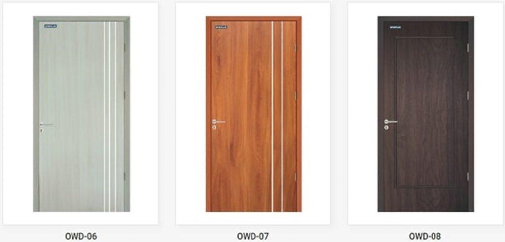 Một số mẫu cửa gỗ nhựa đẹp