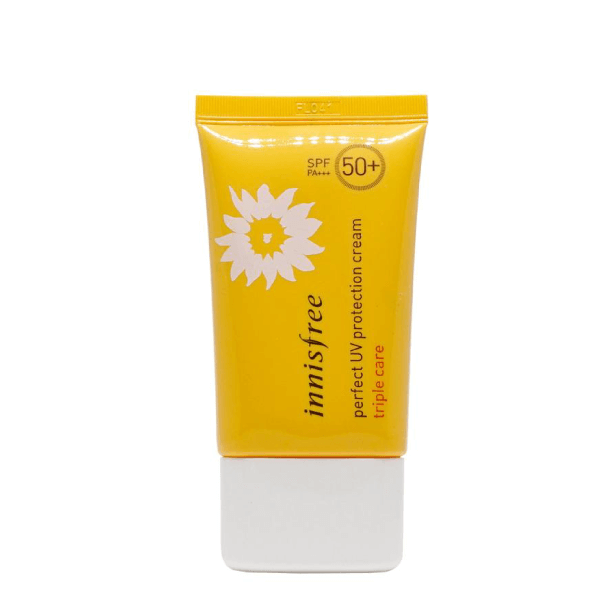 Kem Chống Nắng Innisfree Perfect UV Protection Cream Triple Care với giá thành 290.000 VNĐ