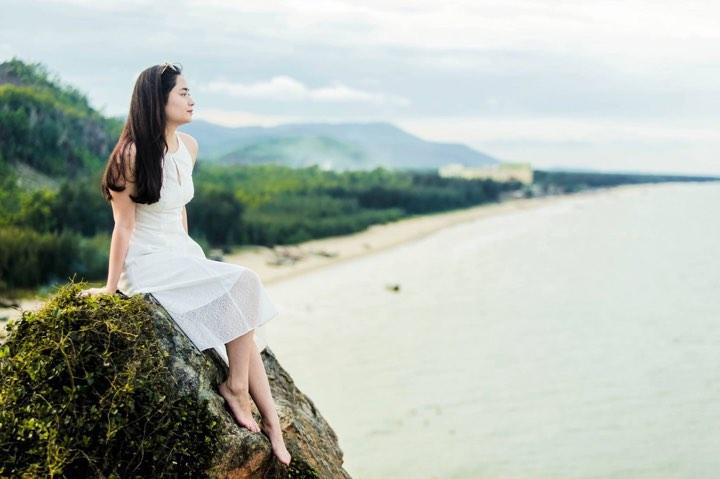 Mõm đá mặt trời tại Hải Hòa
