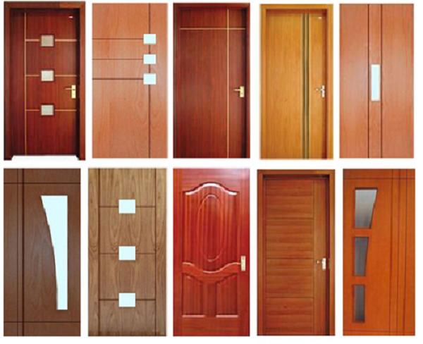 Cửa nhựa giả gỗ với nhiều mẫu mã và màu sắc đa dạng