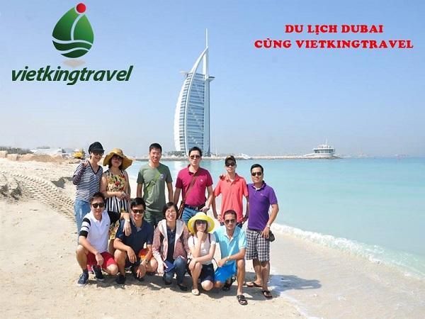 Một tour du lịch Dubai của Vietkingtravel