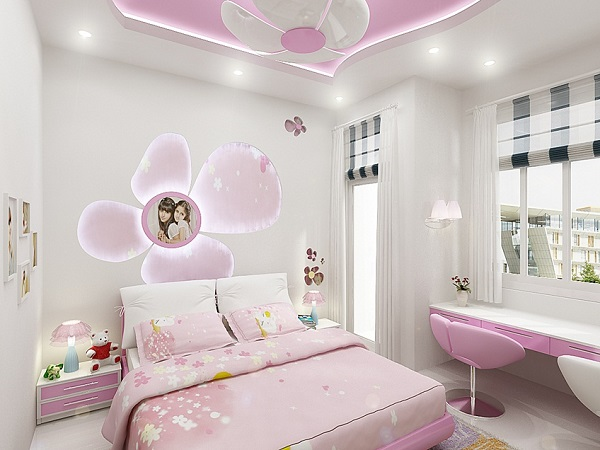Gạch bông trang trí cho phòng trẻ con thường có họa tiết màu sắc tươi sáng