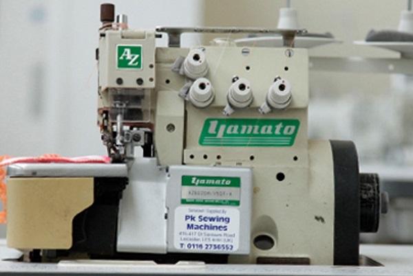 Máy vắt sổ công nghiệp Yamato được trang bị thêm chức năng khóa mũi