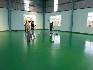 Sơn epoxy - sơn sàn nhà xưởng