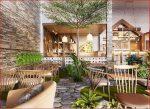 Xu hướng thiết kế quán cafe ngoài trời độc đáo