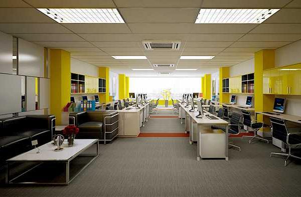 thiết kế thi công nội thất văn phòng tphcm