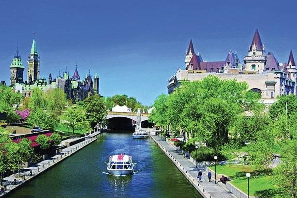 Canada là quốc gia thuộc top giàu nhất thế giới