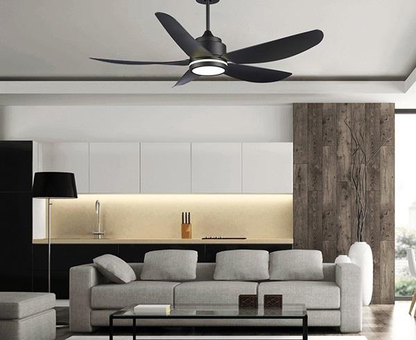 Cần lưu ý đến kích thước của căn phòng để chọn quạt trần phù hợp