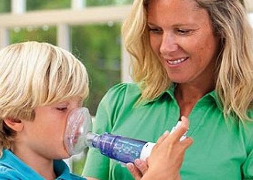 Sử dụng buồng đệm cho bệnh nhân hen suyễn