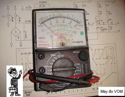 Sử dụng đồng hồ đo điện đúng cách
