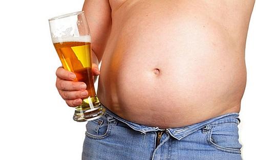 Bụng bia-lo lắng chung của nam giới