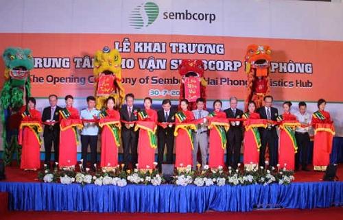 Khánh thành kho vận tải Sembcorp tại VSIP Hải Phòng
