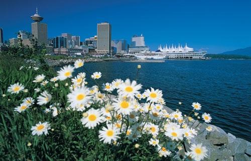 Thành phố Vancouver thơ mộng