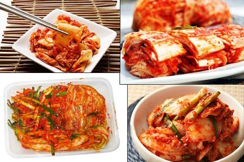 Kim chi là món ăn truyền thống của người Hàn Quốc