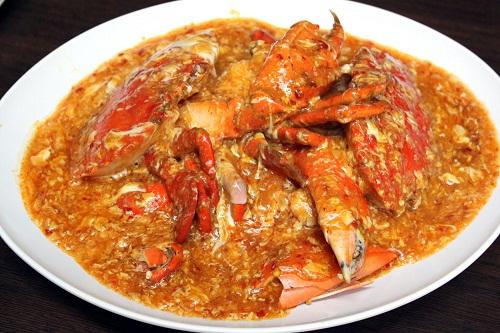 Cua sốt ớt (Chilli Crab)