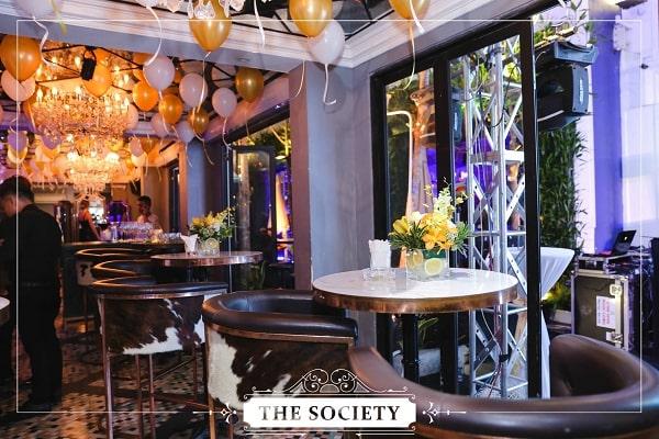 Thiết kế nội thất nhà hàng Society