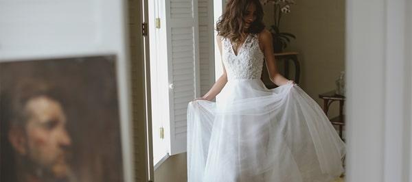 Chất liệu ren cho váy cưới vừa cổ điển vừa sang trọng