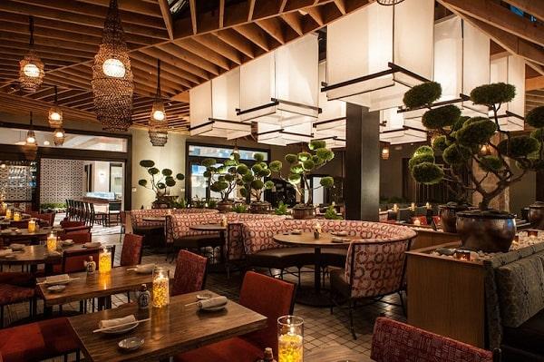 Thiết kế nội thất nhà hàng tại Tp.HCM