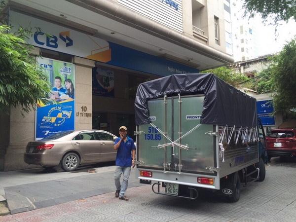 Xe chuyên dụng chuyển đồ đạc