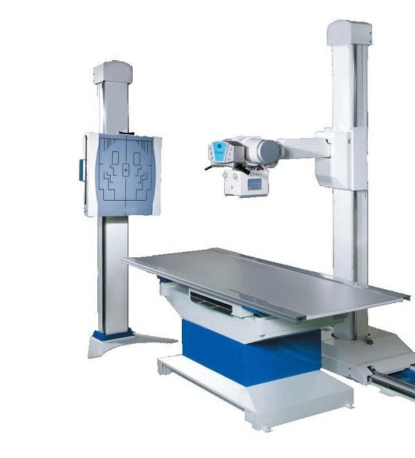 Máy X quang dùng chuẩn đoán hình ảnh các phần cứng như xương