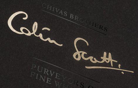 Chữ ký của Colin Scotts