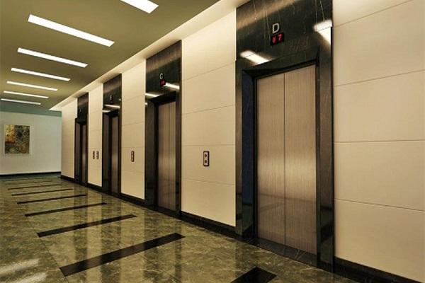 Mẫu thang máy đẹp làm tăng tính thẩm mỹ cho tòa nhà