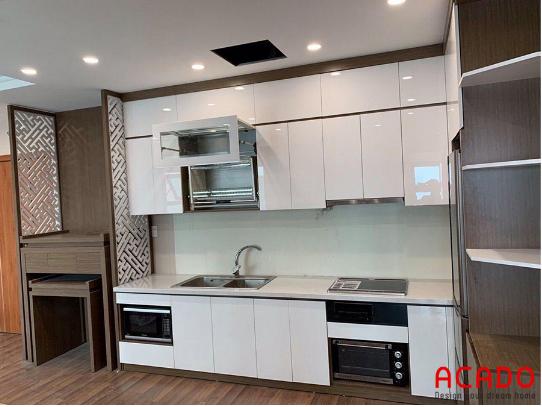 9 mẫu tủ bếp đẹp từ 3 loại chất liệu được ưa thích nhất 2020