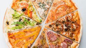 Các loại topping pizza tùy ý