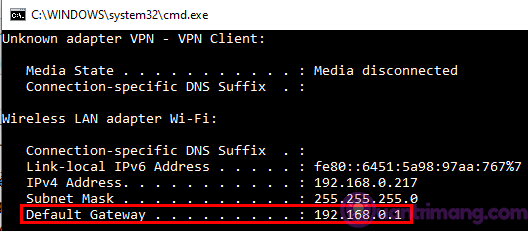 Cách khắc phục lỗi khi có nhiều modem