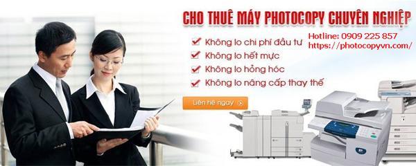 Cho thuê máy photocopy tại Hồ Chí Minh – nhanh, giá rẻ