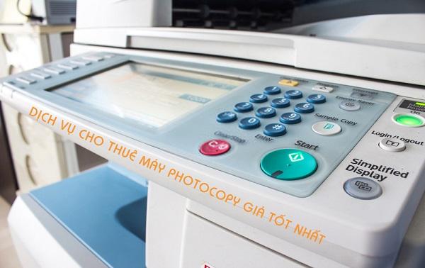 Nên thuê dịch vụ công ty cho thuê máy photocopy?