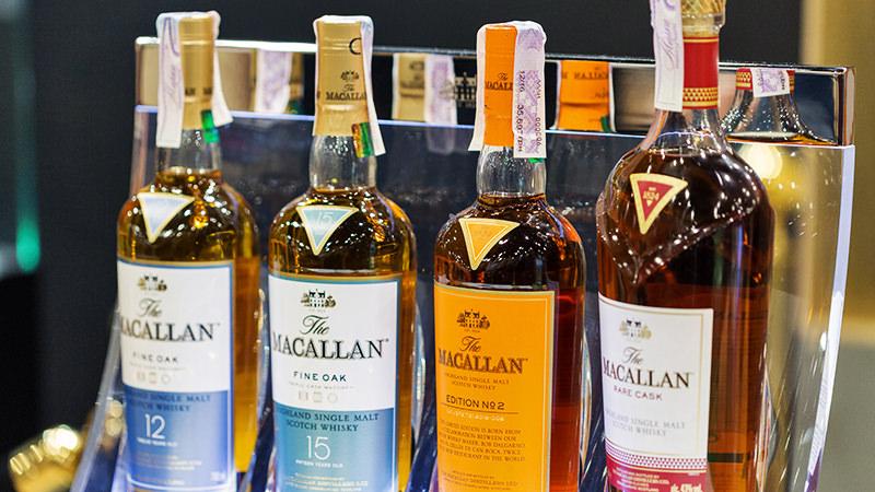 Dòng rượu Macallan cao cấp