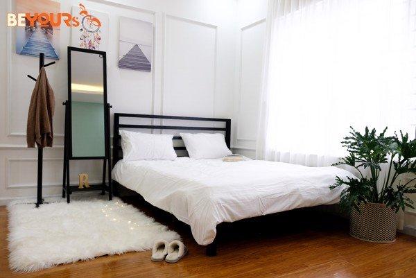 Giường Nan Simple Hàn Quốc hiện đại, tối giản