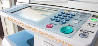 Dịch vụ thuê máy photocopy Suncorp