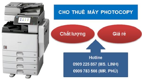 Sử dụng dịch vụ thuê máy để giảm chi phí với doanh nghiệp nhỏ