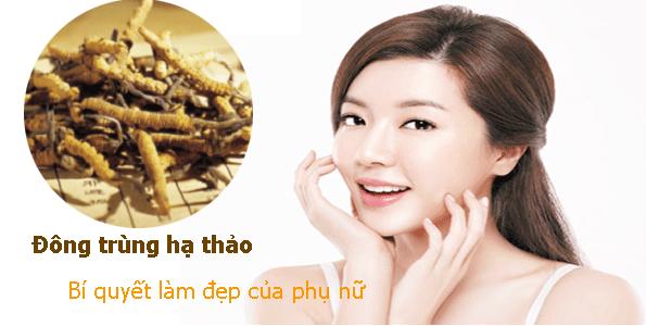 Sử dụng đông trùng hạ thảo để bổ sung Selen, giúp ngăn ngừa lão hóa