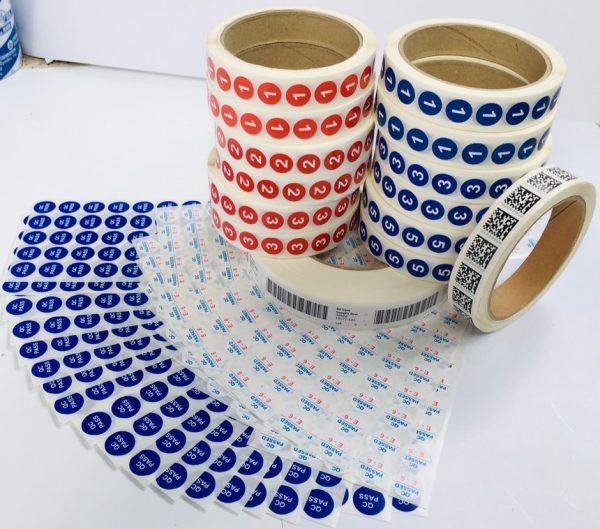 Những điều cần thiết khi in tem 7 màu | Thiết kế Thiết Mộc Lan