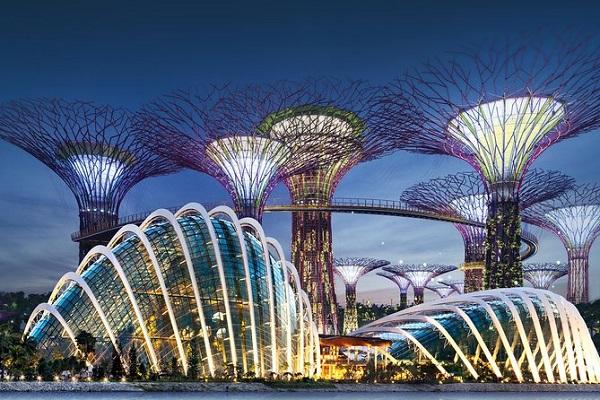 Khám phá công trình kiến trúc tour Singapore Malaysia giá rẻ