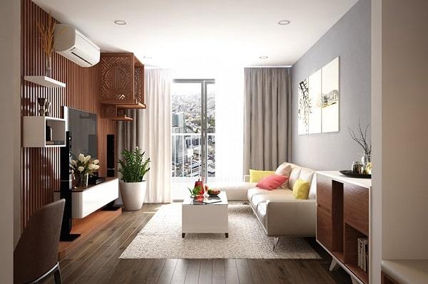 Thiết kế nội thất căn hộ đẹp hiện đại trọn gói giá rẻ