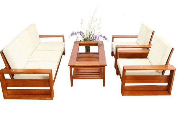 Cách chọn mua bàn ghế phòng khách chung cư đẹp nhất 2020