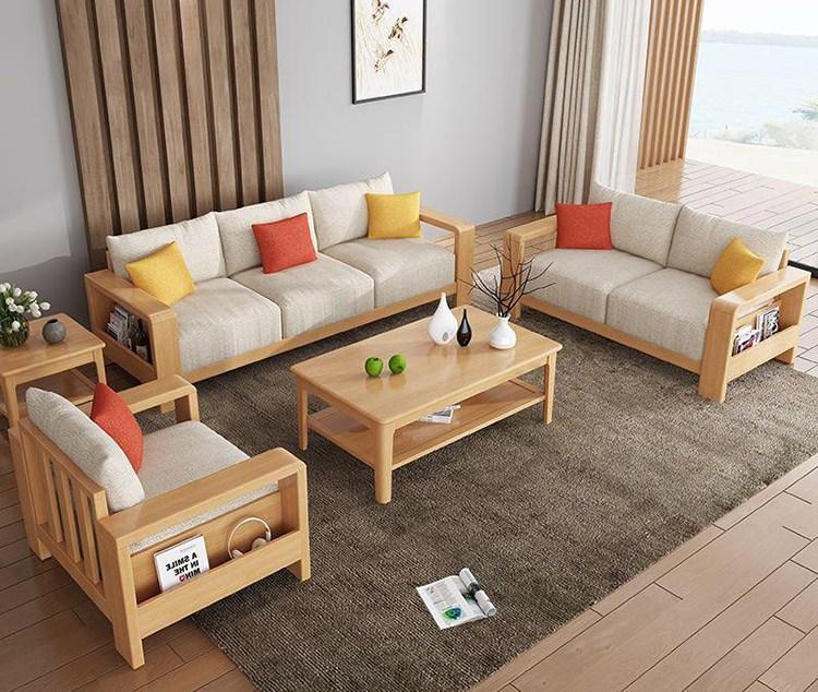 Kinh nghiệm chọn mua bàn ghế sofa gỗ cho phòng khách