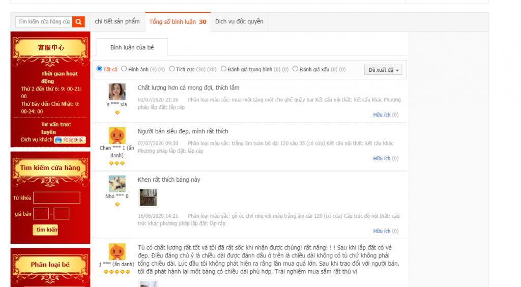 Chia sẻ cách đặt hang Taobao - 4