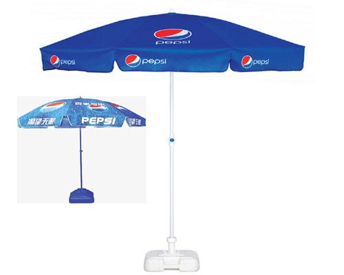 Dù che nắng ngoài trời, giải pháp quảng cáo thông minh