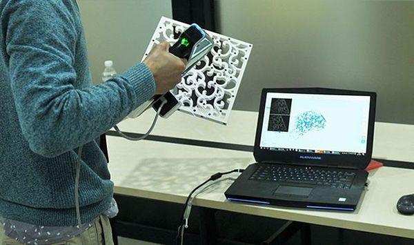 Máy quét 3D hiện đại, tối ưu nhất