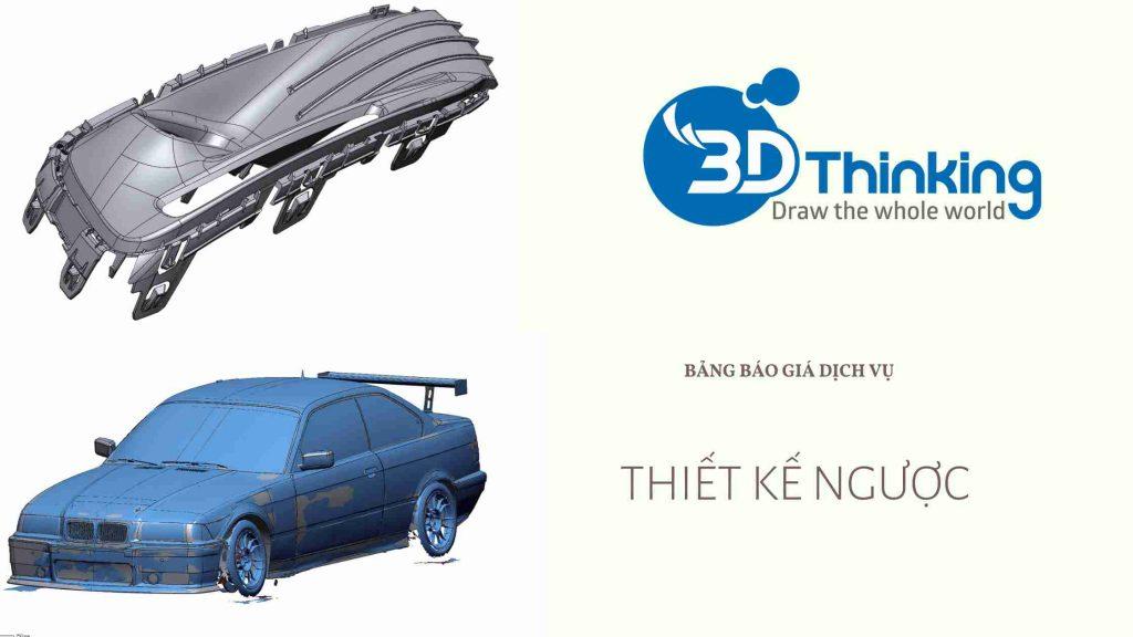 Dịch vụ Scan 3D uy tín tại 3D Thingking